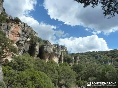 Barranco de la Hoz - Sierra de la Muela;pueblos con encanto cerca de madrid pueblos de la sierra de